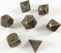 Poly Set - Bronze w/Black (7)