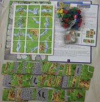 Carcassonne 2-Pack, Base Game + Inns & Cathedrals Expansion!