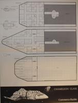 Adventure Class Ships #1 - Stedlas Class - Zhodani System Defense Boat/Chameleon Class - Commerce Trader