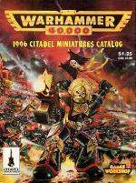 Citadel Miniatures Catalog 1996 (Warhammer 40,000)