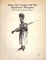 Rules for Conduct of the Napoleonic Wargame