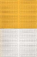 """Blank 1/2"""" Counters - 960 counters in 4 Colors!"""