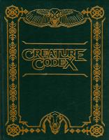Creature Codex (Limited Edition)