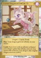 Havok & Hijinks - Crystal Dragon at GenCon '13 Promo Card