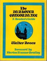 Darkover Concordance, The - A Reader's Guide