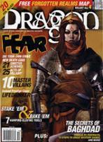 "#288 ""Forgotten Realms Map #2, Fear - New Death Gods, 10 Master Villains, Undead Life Drinker Prestige Class"""