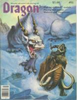 "#81 ""Ruins of Andril High Level AD&D Adventure, Playing with Poison"""