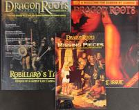Dragon Roots Collection - 2 Magazines w/Bonus!