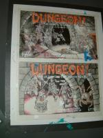 TSR - Dungeon Board Game Mockups - Original Paintings (2)