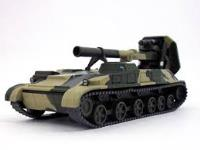 2S4 Tyulpan Self Propelled Mortar Soviet Tank