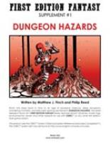 Supplement #1 - Dungeon Hazards