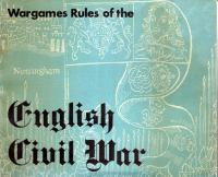 Wargames Rules of the English Civil War