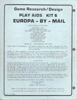 Play Aids Kit #6 - Europa By Mail