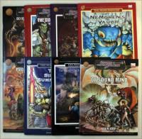 Fiery Dragon Fantasy Supplement Collection - 8 Books!