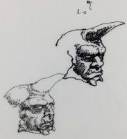 FASA Office Doodle - Fantasy Creature