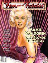 """Vol. 5, #8 """"Mamie Van Doren - '50s Blonde Bombshell"""""""