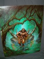 "TSR Dragon #142 - 19"" x 24"" Original Painting"
