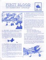 First Blood - The Guadalcanal Campaign
