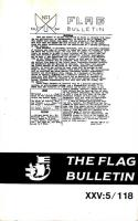 "#118 ""The Olympic Flag, Civic Flags and Heraldry, The Earliest Flags"