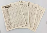 Challenge Yahtzee Score Pads