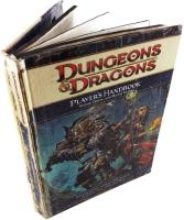 4th Edition Player's Handbook Lot - 2 Books Re-bound in 1 Volume