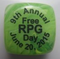 D6 2015 Free RPG Day Die