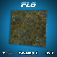 3' x 3' - Swamp #1