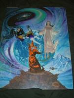 """TSR Forgotten Realms Campaign Setting 2nd Edition - 15"""" x 20"""" Original Painting"""