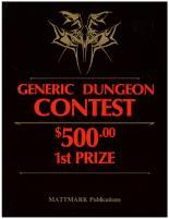Generic Dungeon Contest