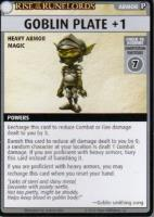 Rise of the Runelords Promo Card - Goblin Plate +1
