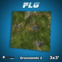 3' x 3' - Grasslands #2