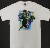Green Lantern T-Shirt - White (M)