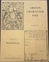 Arduin Character Pad