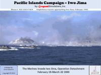 Pacific Islands Campaign - Iwo Jima