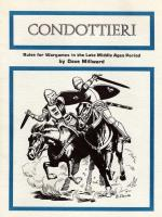 Condottieri - Rules for Wargames in the Late Middle Ages Period