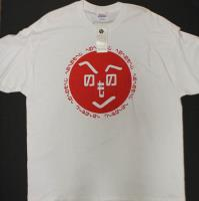 Hiragana Man - White T-Shirt (L)