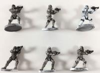 Star Wars - Imperial Assault w/Painted Stormtroopers