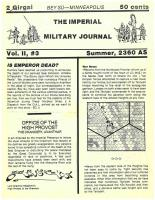 Imperial Military Journal Vol. 2 #3 - Summer 2360