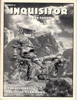 """#14 """"Titan Legions, Inquisitor Titan Rules, Phantom Special Rules"""""""