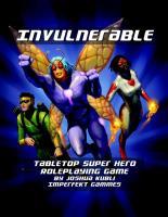 Invulnerable Superhero RPG (Vigilante Edition)