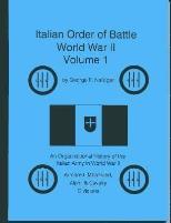 Italian Order of Battle, World War II - Volume 1