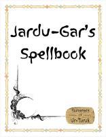Jardu-Gar's Spellbook