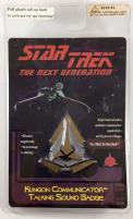Klingon Communicator Talking Sound Badge