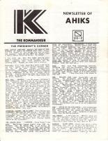 "Vol. 20, #2 ""Flight of the AHIKS, VITP Tourney, Waterloo Replay"""