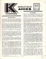 """Vol. 21, #3 """"Approach the Bench, New Rules for Axis and Allies, Election Report"""""""