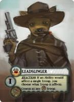 Tooth & Nail - Factions, Leadslinger Promo Pack