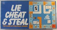 Lie, Cheat & Steal - The Game of Political Power (Long Box Edition)