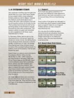 Desert Heat Module & Scenario Booklet (3rd Edition)