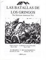 Las Batallas de Los Gringos - The Mexican-American War