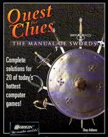 Quest for Clues - The Manual of Swords